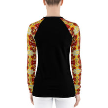Load image into Gallery viewer, Abstract Women's Rash Guard