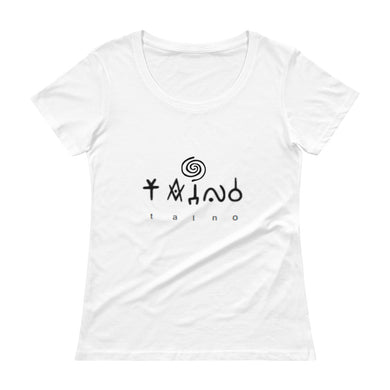 Taino Ladies' Scoopneck T-Shirt