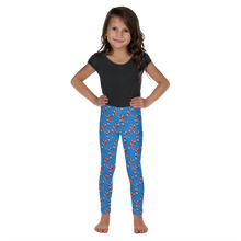 Load image into Gallery viewer, All over printed Candy Cane Kid's Leggings