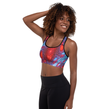 Load image into Gallery viewer, All Over Printed Active Sportswear Padded  Bra