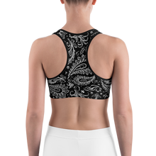 Load image into Gallery viewer, Chessie Paisley Sports bra