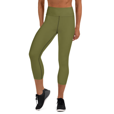USAF Olive Capri Leggings