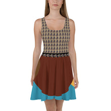 Load image into Gallery viewer, New Picasso Art Skater Dress Canadian, Mexico, Europe, Caribe America