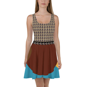 New Picasso Art Skater Dress Canadian, Mexico, Europe, Caribe America