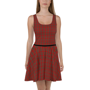 SKATE 2 Lambing Tartan Skater Dress