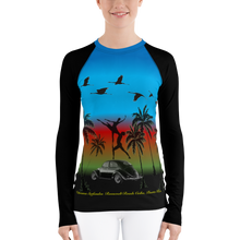 Load image into Gallery viewer, Midnight blue urban rash guard