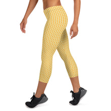 Load image into Gallery viewer, Honeycomb Capri Leggings
