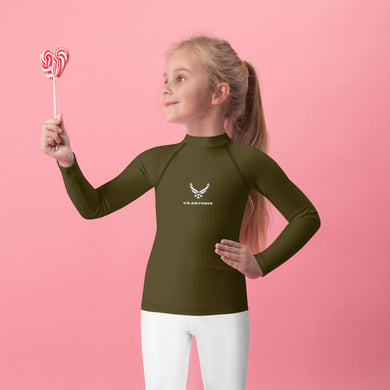 USAF Kids Rash Guard