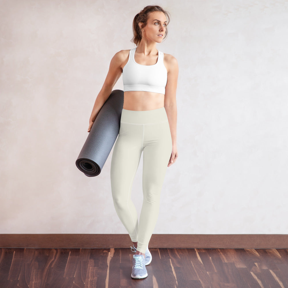 USAF Creme Yoga Leggings
