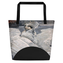Load image into Gallery viewer, TOTE 426 Russian Swan Princess Travelers Tote Beach Bag
