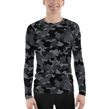 Load image into Gallery viewer, Chessie Hudson Yards Camo Men's Rash Guard
