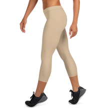 Load image into Gallery viewer, Beige Capri Leggings