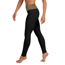 Load image into Gallery viewer, Jersey Shore Golden Global Yoga Leggings