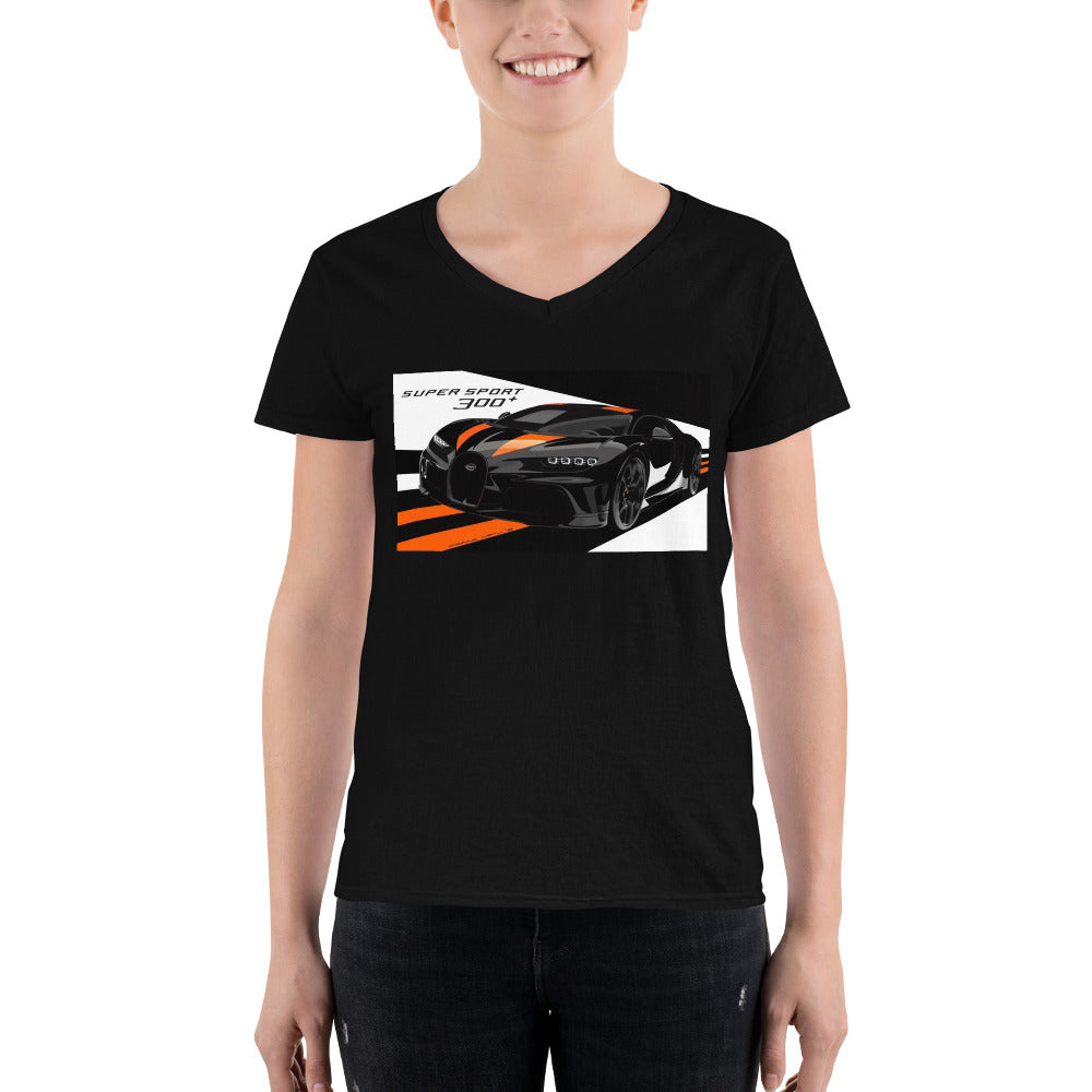Bugatti Novelty active wear v-neck shirts