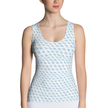 Load image into Gallery viewer, Blue Eyes Tank Top