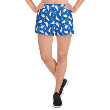 Load image into Gallery viewer, Star of David Women's Athletic Short Shorts