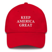 Load image into Gallery viewer, KEEP AMERICA GREAT CAP