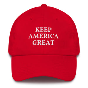 KEEP AMERICA GREAT CAP