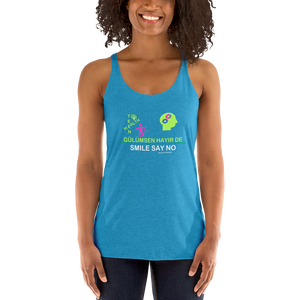 Support teen  health Women's Racerback Tank