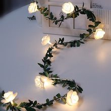 Load image into Gallery viewer, 10/20/40leds Rose Flower led Fairy String Lights