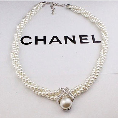 Chanel rendition Pearl necklace