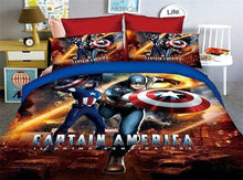 Load image into Gallery viewer, Cartoon Spiderman Bedding Set