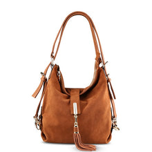 Load image into Gallery viewer, Nico Louise Women Real Suede Leather Shoulder Bag Female Leisure Nubuck Convertible Handbag Hobo Messenger Top-handle bags Purse