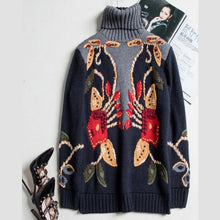 Load image into Gallery viewer, Luxury Runway Designer Wool Sweater