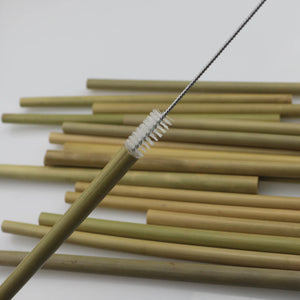 4pcs/set Bamboo Reusable Drinking Straw Eco-Friendly