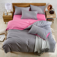 Load image into Gallery viewer, 230X250cm AB Side Bedding Set Super King Duvet 4pc