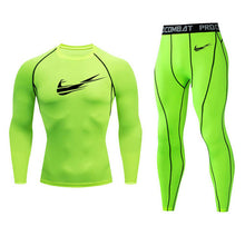 Load image into Gallery viewer, New Jogging Broke Out Nike Thermal Underwear Set