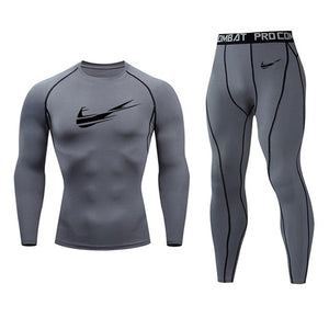 New Jogging Broke Out Nike Thermal Underwear Set