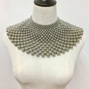 MANILAI Elegant Alloy Torque Choker Necklaces