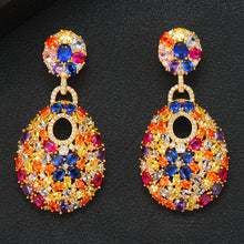 Load image into Gallery viewer, GODKI 50mm Charms Hot Trendy Luxury Link Chain Drop Earring