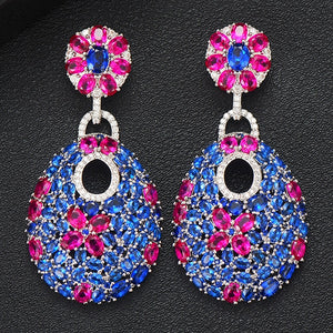 GODKI 50mm Charms Hot Trendy Luxury Link Chain Drop Earring