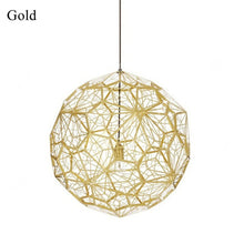 Load image into Gallery viewer, Italy Designer Stainless Steel Diamond Ball Etch Web Pendant