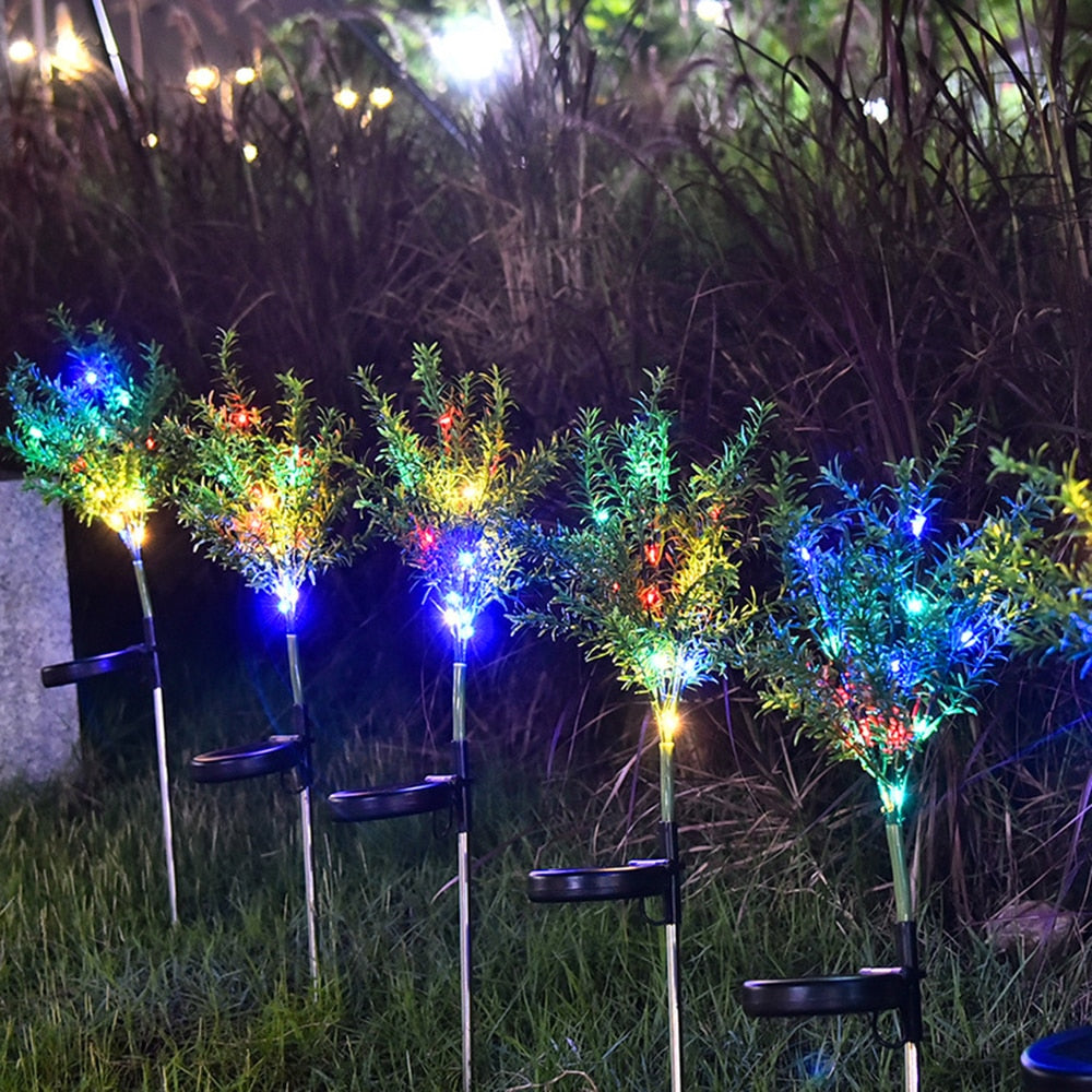 2pcs Solar Power Lights Led Party Lights Ambient