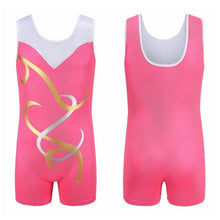 Load image into Gallery viewer, Gymnastics Dancesuit Girls Sleeveless