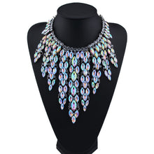 Load image into Gallery viewer, Brand Rhinestone Multicolored  Good Quality Chunky Collar Women Choker