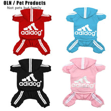 Load image into Gallery viewer, Pet Clothes for Dog Cat Puppy Hoodies Coat Winter Sweatshirt Warm Sweater Dog Outfits  dog jacket Pet four-legged clothes