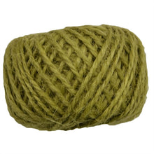 Load image into Gallery viewer, 30M Natural Burlap Hessian Jute Twine Cord Hemp Rope