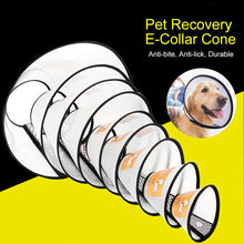 Load image into Gallery viewer, Protective Dog Collar Oxford Cloth Pet Protective Collar Dog Neck Cone Recovery Wound Healing Protection Cone Breathable Collar