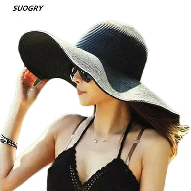 Fashion Seaside Sun Visor Hat Female Summer