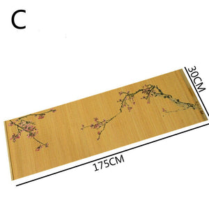 Bamboo Cup Mat Kung Fu Tea Accessories Weaving