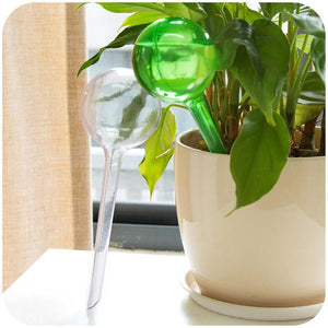 Auto Drip Irrigation Imitation Glass Ball Flower Automatic Watering Device Plant Pot Bulb Shape Drip Home Travel Water Dropper
