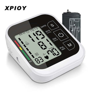 XPIOY Automatic Arm Blood Pressure Monitor Health BP Sphygmomanometer Pressure Meter Tonometer for Measuring Arterial Pressure