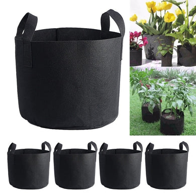 1Pc 6 Size Tropical In-outdoor for Terrace  Vegetable  Flower Pot Container