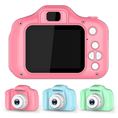 Vitaly's Cool Kids Digital Camera 2 Inch HD Screen Cartoon Cameras Video Recorder Camcorder Children's Birthday Gift Boys Girls Toys Fun Games