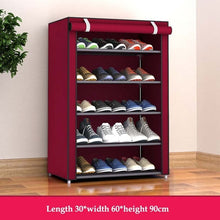 Load image into Gallery viewer, Dustproof Shoes Rack Non-Woven Fabric Shoe Stands Space-saving Shoe Organizer Closet Home Shoes Storage Holders Shelf Cabinet