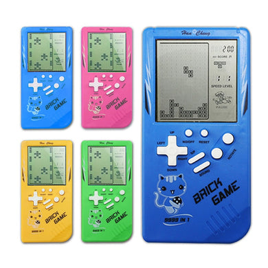 Zayne Portable Game Console Tetris Handheld Game Players Lcd Screen Electronic Game Toys Pocket Game Console
